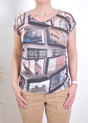Dividere Kopenhagen picture T-shirt front
