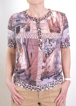 Dividere Montpellier crush T-shirt front