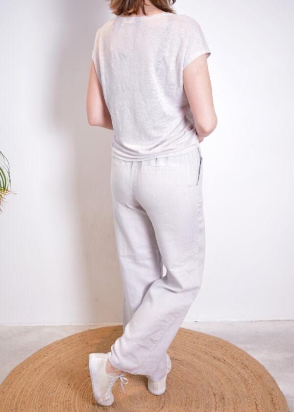 Emotions Palazo trouser 221072 light grey