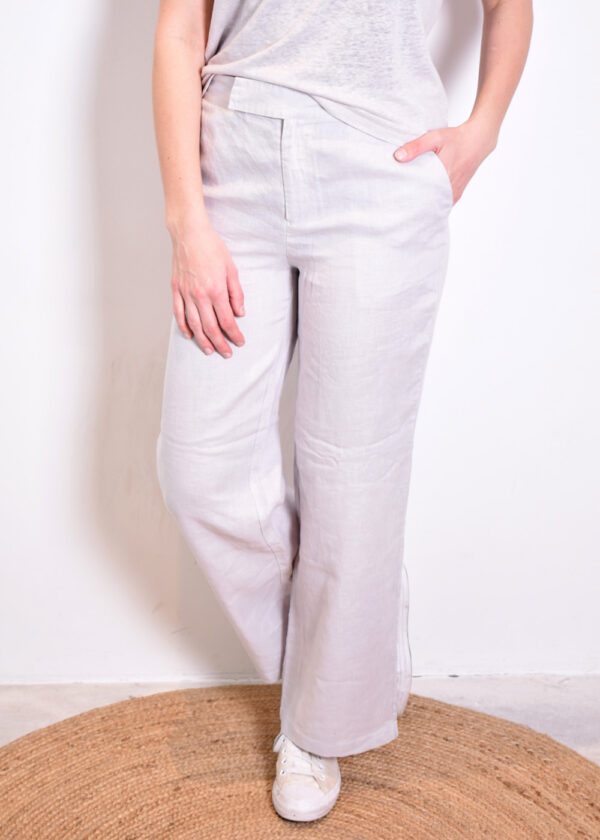Emotions Palazo trouser 221072 light grey front