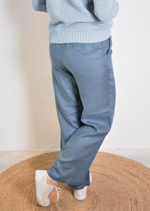Emotions Palazo trouser 221072 vintage blue back 2