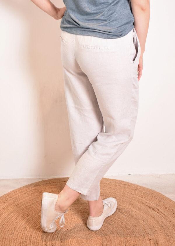 Emotions Sportive trouser 221073 light grey back