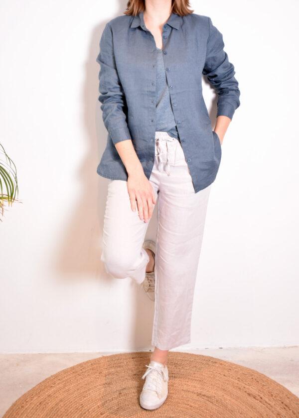 Emotions Sportive trouser 221073 light grey set