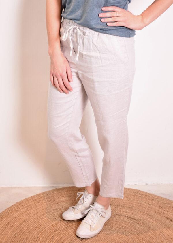 Emotions Sportive trouser 221073 light grey side