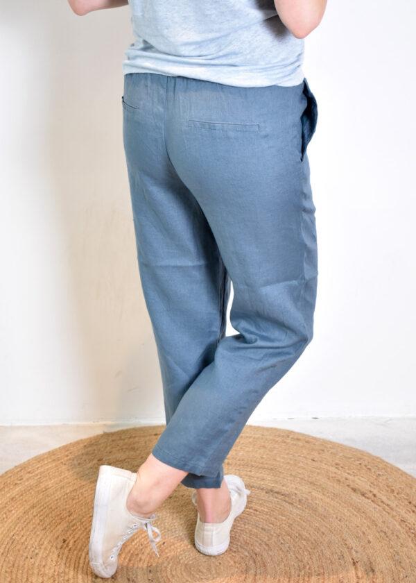 Emotions Sportive trouser 221073 vintage blue back