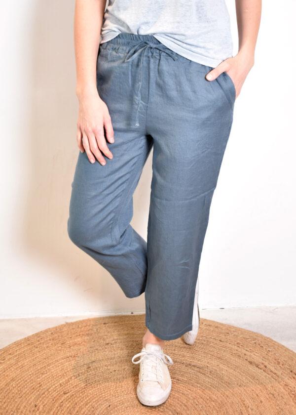 Emotions Sportive trouser 221073 vintage blue front