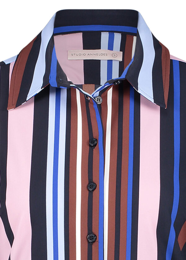 Studio Anneloes Poppy stripe blouse 05382-6968 close up