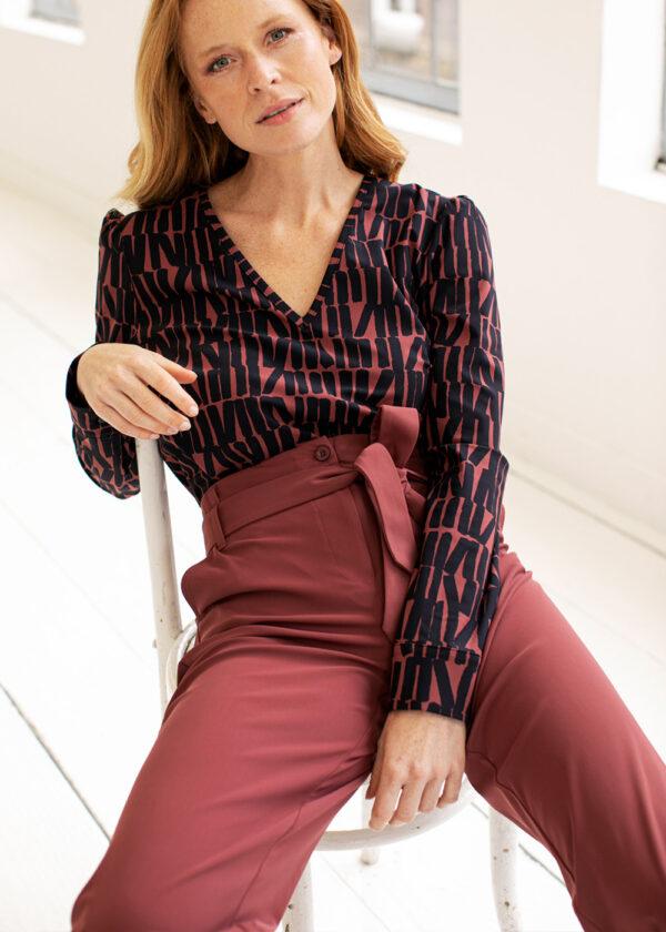 Studio Anneloes Renske trousers 05391-3900 combi