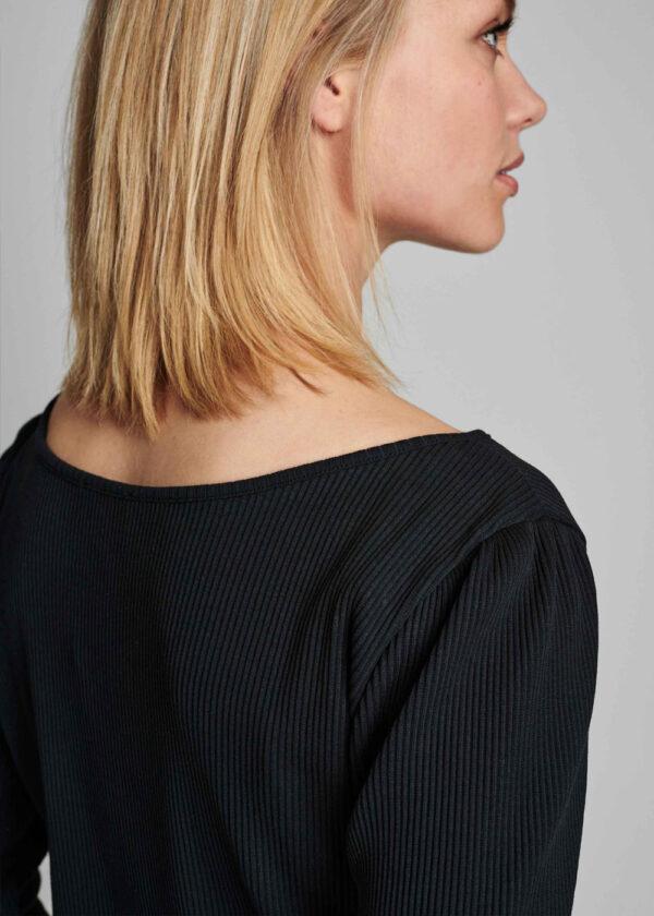 Nümph 700319 Nudari T-shirt caviar shoulder