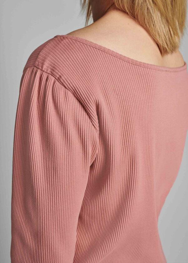 Nümph 700319 Nudari T-shirt ash rose shoulder