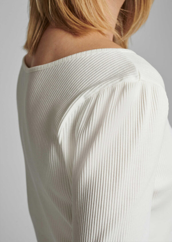 Nümph 700319 Nudari T-shirt cloud dancer shoulder