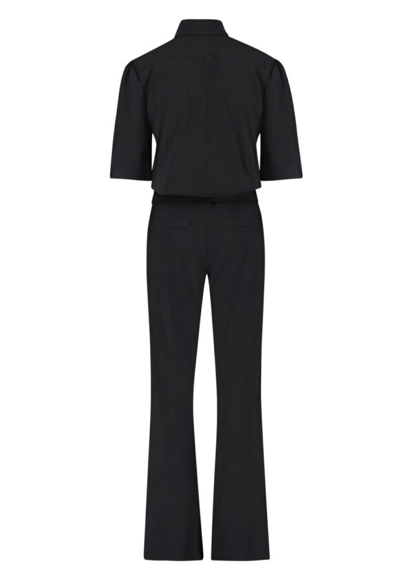 Studio Anneloes Eliza zipper jumpsuit 05499-9000 black packshot back