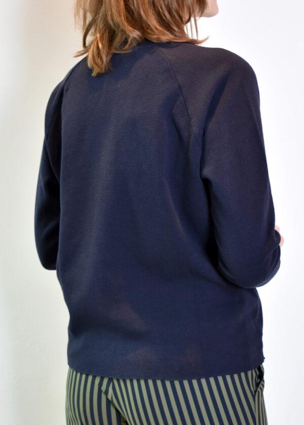 Penn & Ink N.Y sweater S21F895 navy back