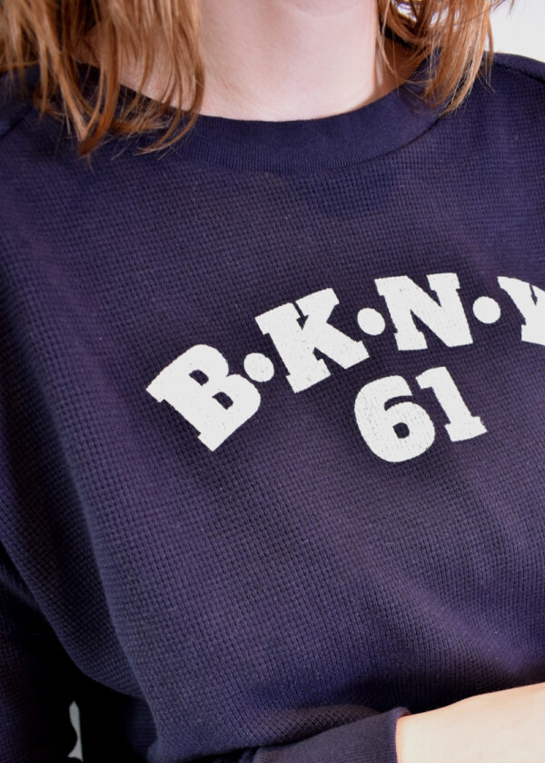 Penn & Ink N.Y sweater S21F895 navy details