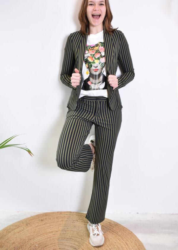 Penn & Ink N.Y. blazer S21N939 pants S21n938 combi 2