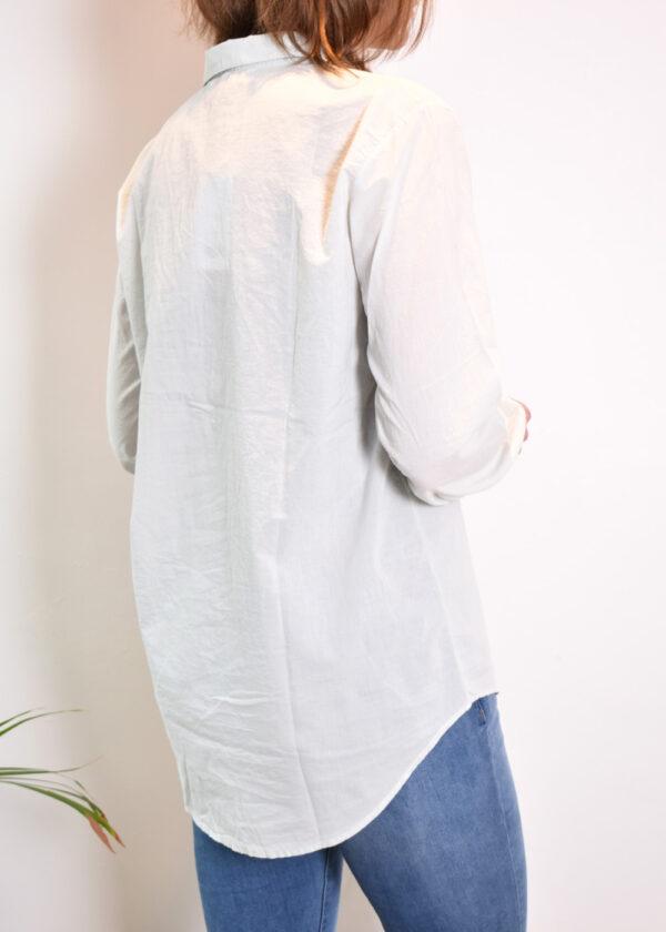 Penn & Ink N.Y. blouse S21F868 barely back