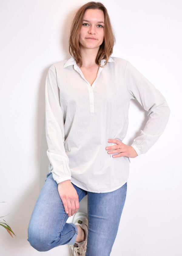Penn & Ink N.Y. blouse S21F868 barely front