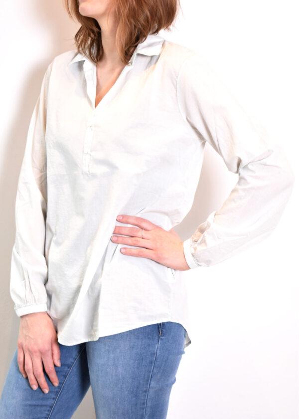 Penn & Ink N.Y. blouse S21F868 barely side
