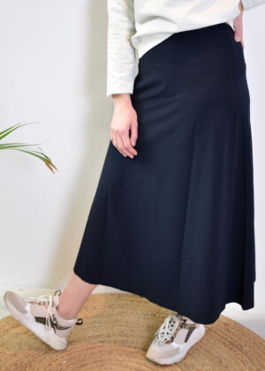 Penn & Ink Skirt S21N96055 navy front