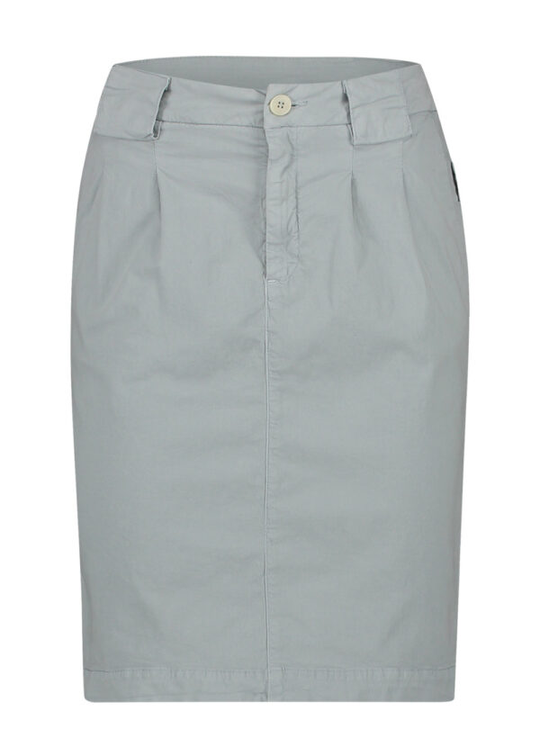 Penn & Ink Skirt S21W330 Pigeon front