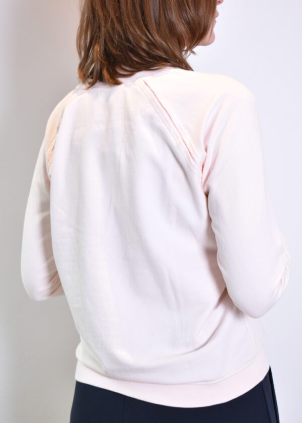 Penn & Ink Sweater S21F872 blossom terracotta back