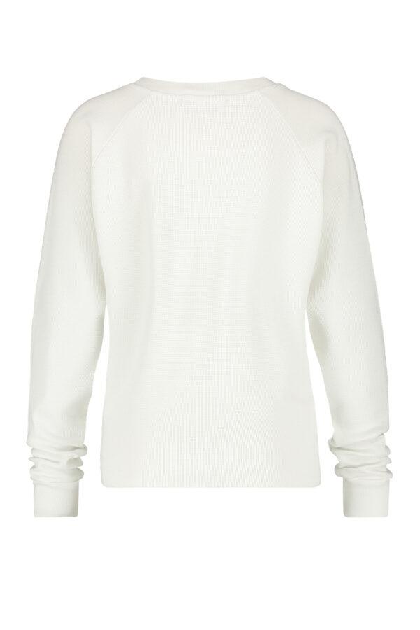 Penn & Ink Sweater barely terracotta S21F895 back