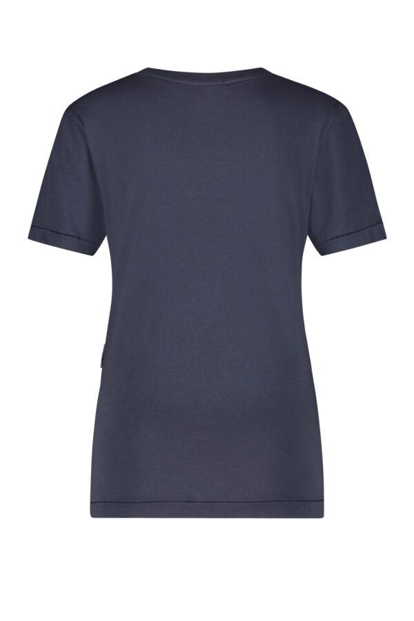 Penn & Ink S21T556 navy t-shirt back