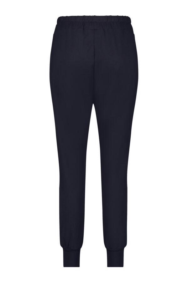 Penn & Ink Trousers Navy S21T575 back