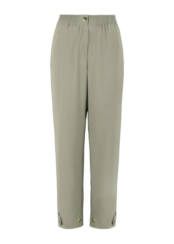 SR221-703 Francine ankle pants covert green