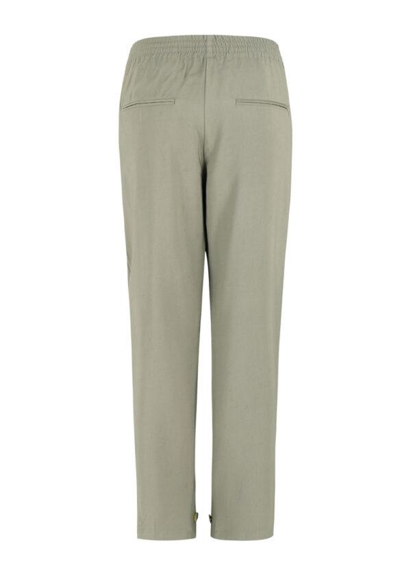 SR221-703 Francine ankle pants covert green back