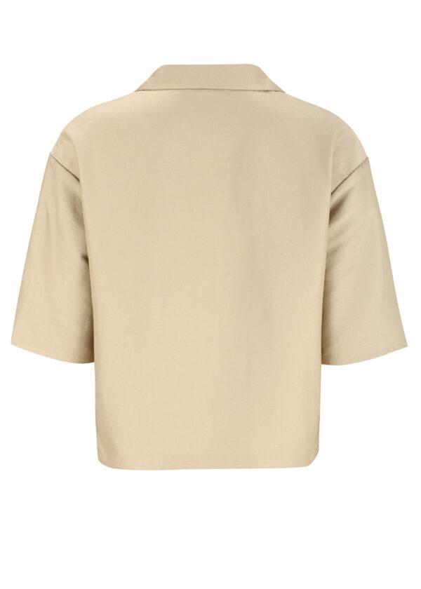 SR221-706 Gail 3 4 shirt white pepper