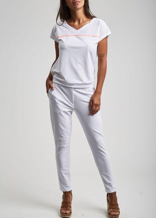 HBT Christina pantalon Blanc HB0EWA01100 front 2