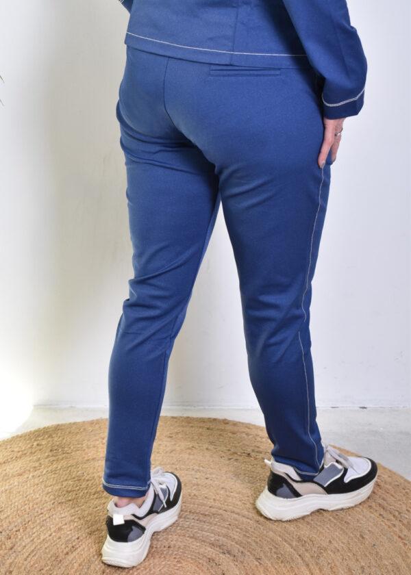 HBT Denim christina pantalon indigo city back