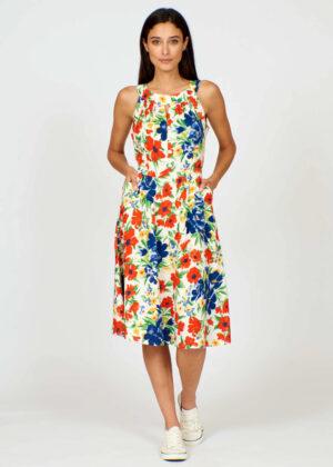 Pretty Vacant Esme dress flower show front