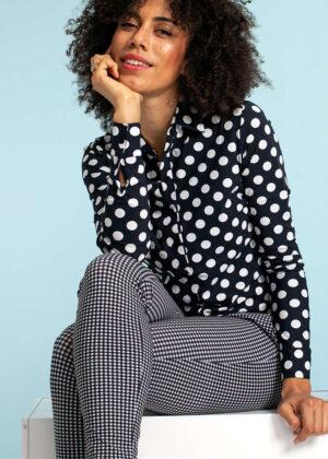 Studio Anneloes 04385-6911 poppy dot blouse extended family model 1
