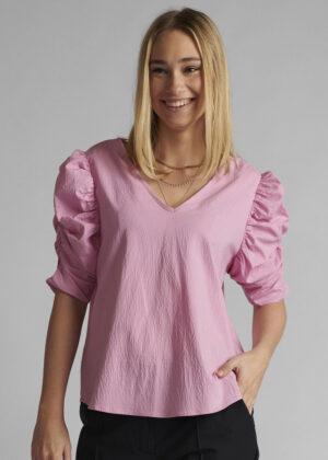 Nümph Nucelestia blouse 700653 Lilac shiffon front