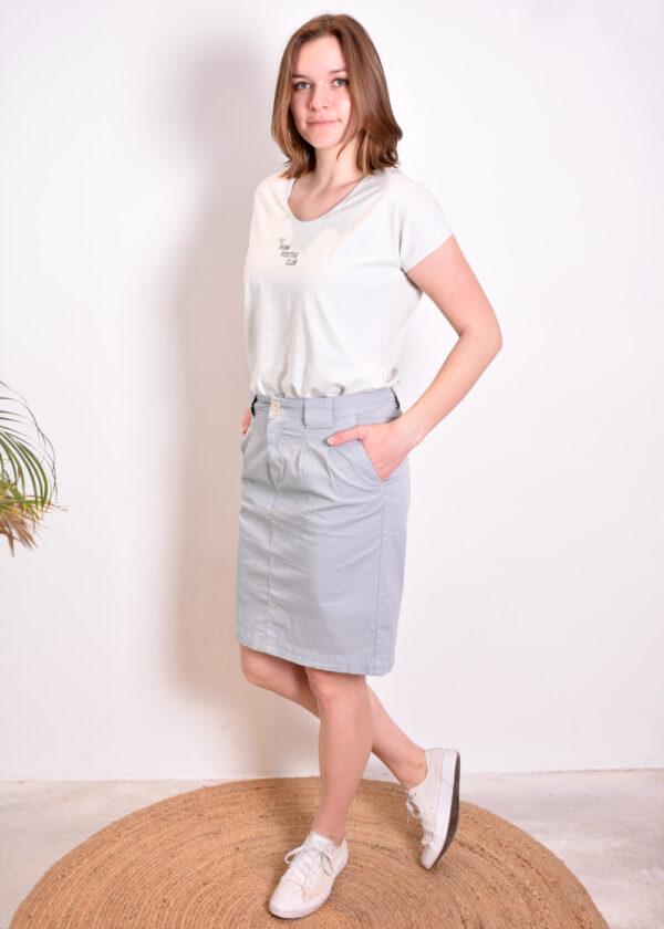 Penn & Ink T-shirt T552 outfit Penn & Ink Skirt W330