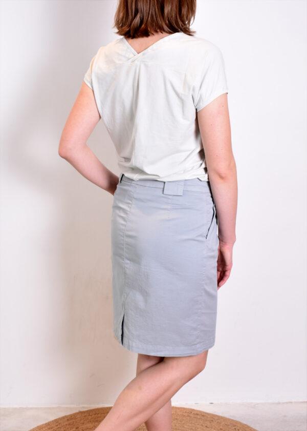 Penn & Ink T-shirt T552 outfit Penn & Ink Skirt W330 back
