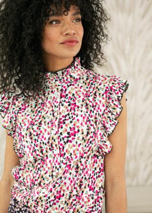 Studio Anneloes Michelle arti dot blouse front