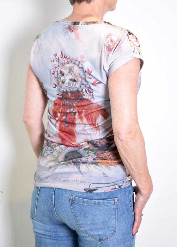 Dividere Toulouse Bohemian T-shirt back