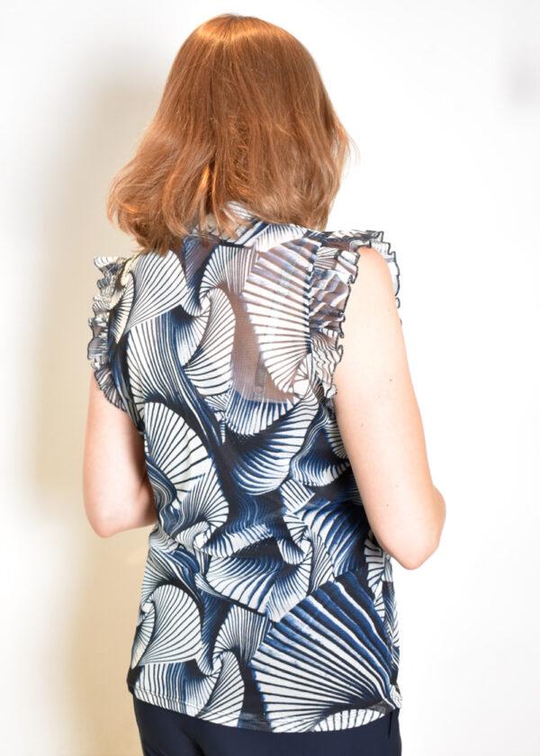 I-coni-K Baukje top dessin mesh back