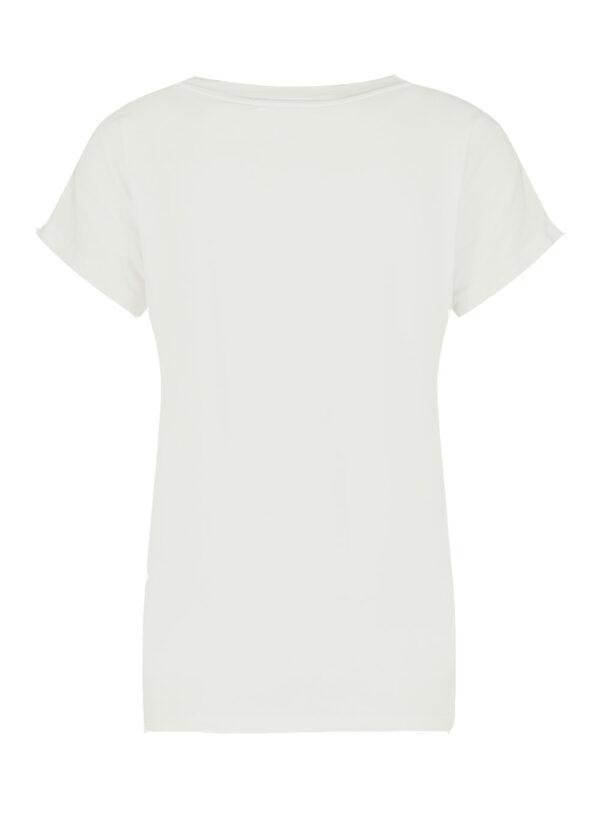Penn & Ink T-shirt print S21T554 back foggy