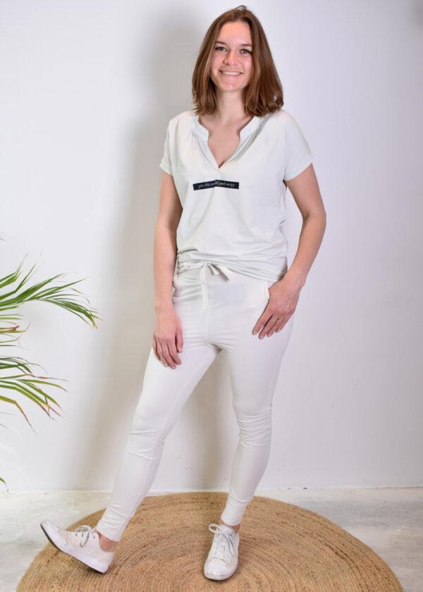 Penn & Ink trousers S21M-PITA Foggy side