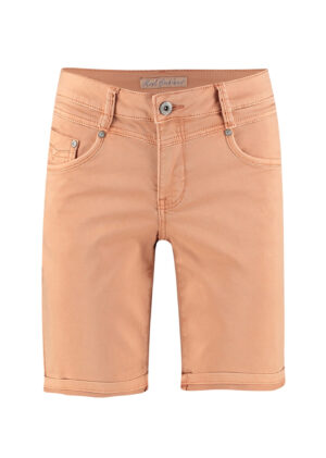 Red Button Relax short jog color peach 2797 front