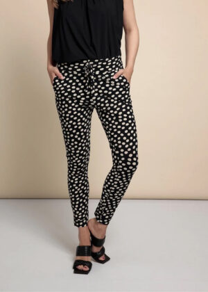 Studio Anneloes Stairsup dot trousers 05911 Desert journey close up