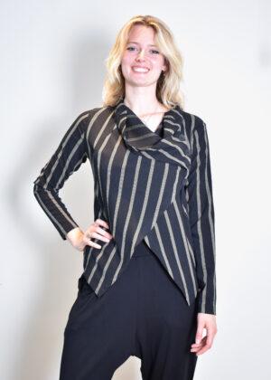 Elsewhere Lio Jacket Stripe 20114 front