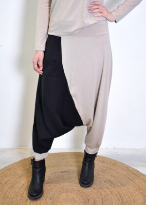 Elsewhere cleo low trousers sea salt 20175 front