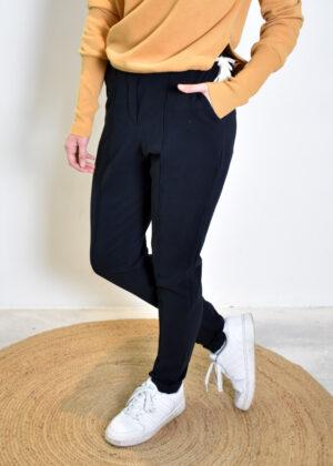Penn & Ink Trousers W21F967 black side