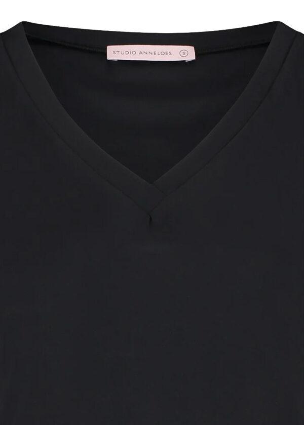 Studio Anneloes Roller shirt 94742 black close up