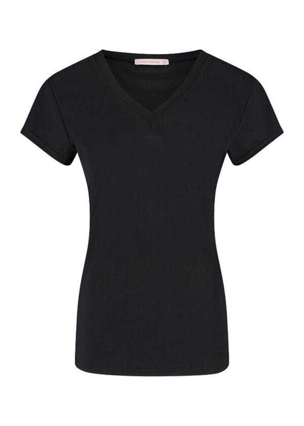 Studio Anneloes Roller shirt 94742 black packshot front